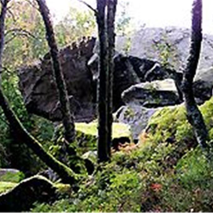 I Bölingereservatet mellan Örkelljunga och Laholm ligger Snibe stua. Här finns grottor som man, enligt sägen kan se spår av jätten Snibe i.