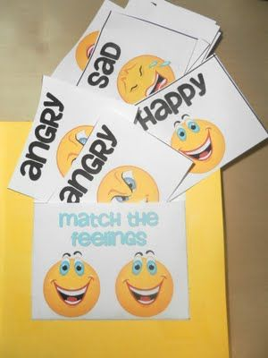 Books about feelings and Feelings Lapbook, with printable resources~ Re-  pinned by Total Education Solutions.  Check out the rest of our School Resources and Therapy pins @ http://pinterest.com/totaleducation