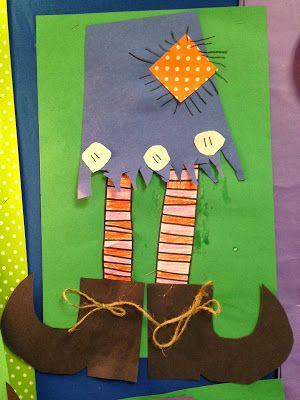 Chalk Talk: A Kindergarten Blog: Room on the Broom Activities