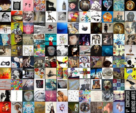 """Partecipazione al concorso Buenos Aires 2013 della associazione Open Art di Corso Buenos Aires a Milano con i quadri, """"La crocifissione"""", """"Vari aspetti dell'anima"""", e """"il Don Chisciotte"""""""