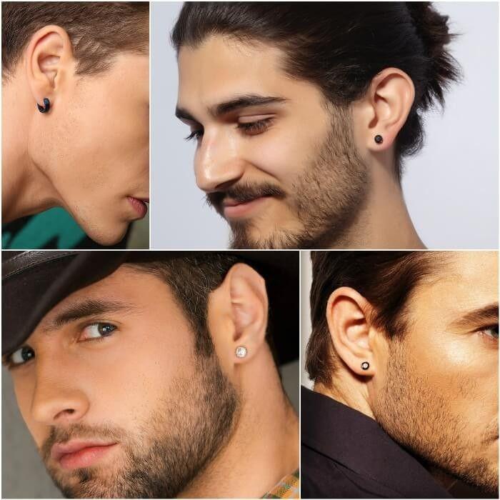 Herren Ohr Piercing Ideen - Wo Herren Ohrringe kaufen