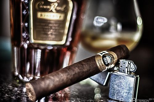 What a night that was....Crown and Cigars, to think some one captured that moment