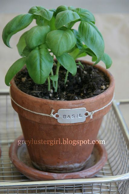 DIY Pop Can Herb Tags with our Stamping Set