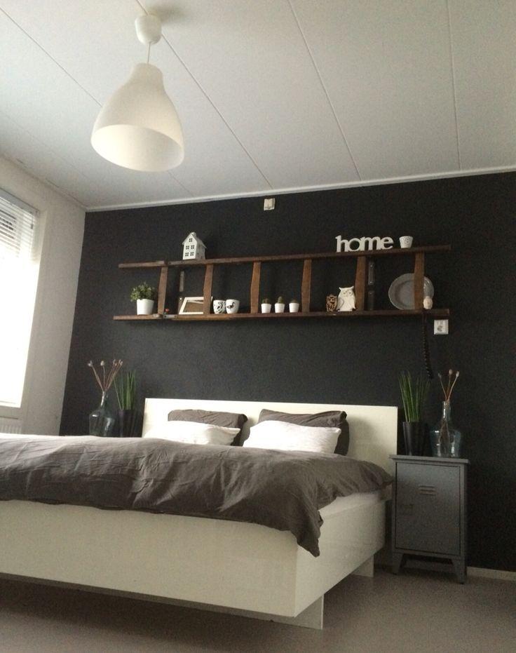 17 beste idee n over zwart wit slaapkamers op pinterest zwarte slaapkamer decor zwart wit - Slaapkamer zwart en wit ...