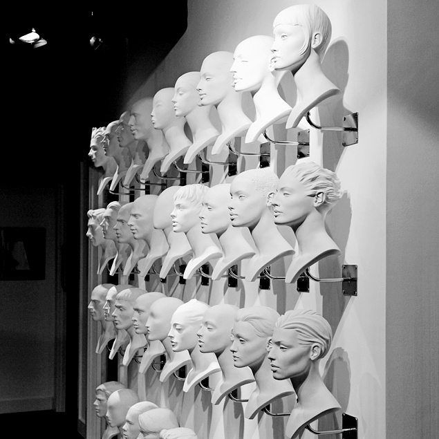 "ROOTSTEIN, London, UK, ""Faces shaped by different stories, so many choices"", (Just add eyewear), pinned by Ton van der Veer"