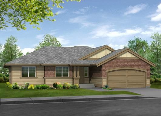 Efficient And Attractive Rancher Compact Economical And Yet Open And Spacious This Plan