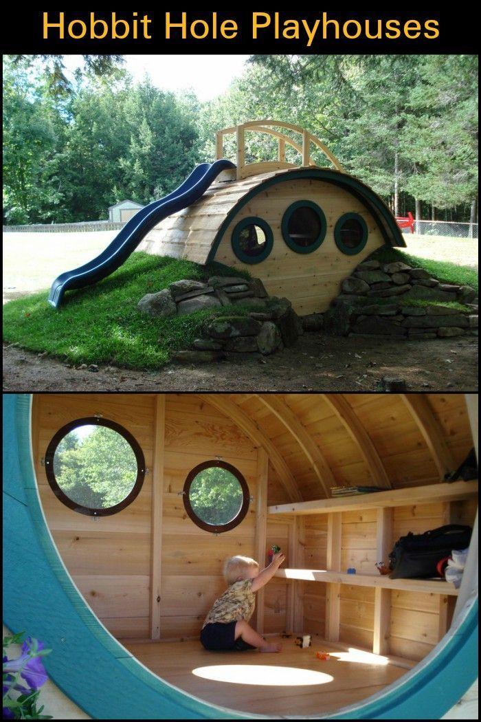 Diese einzigartigen Spielhäuser sind inspiriert von den berühmten Hobbit-Löchern des
