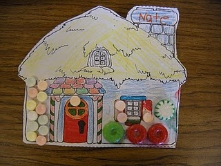 candy house to go with Hansel and Gretel