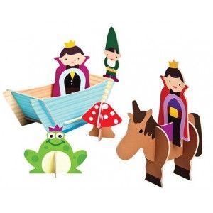 Felix - Orlando Princes Set #Karton #Oyun #Setleri  Kurbağası, kayığı mantarlarıyla birlikte 3 tane figürden oluşan harika bir oyun seti.