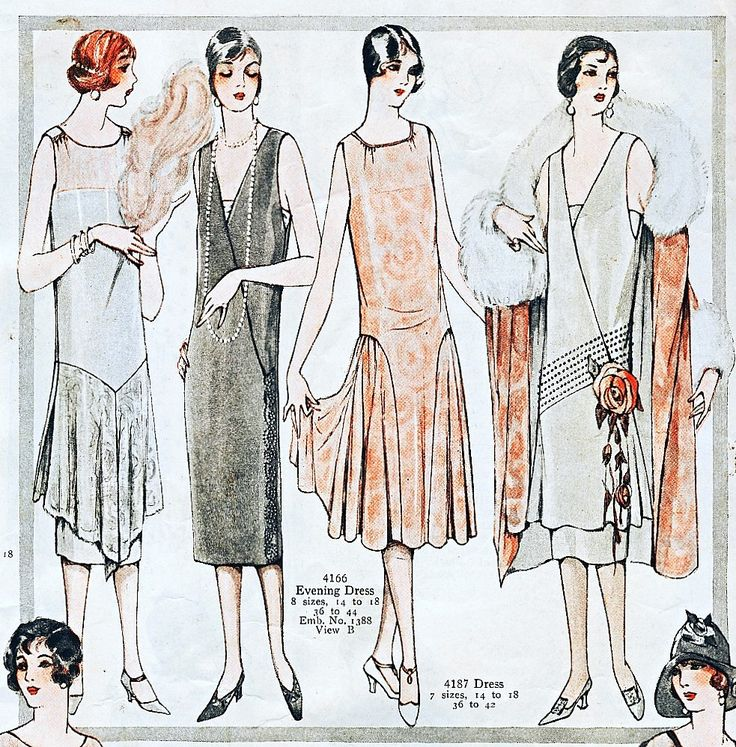 Fashion Plate - McCall's Magazine, August 1925