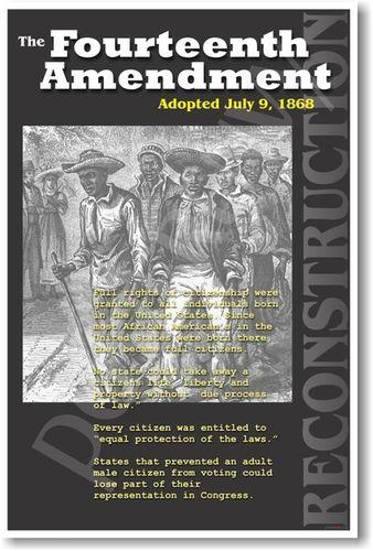 14TH AMENDMENT - RECONSTRUCTION