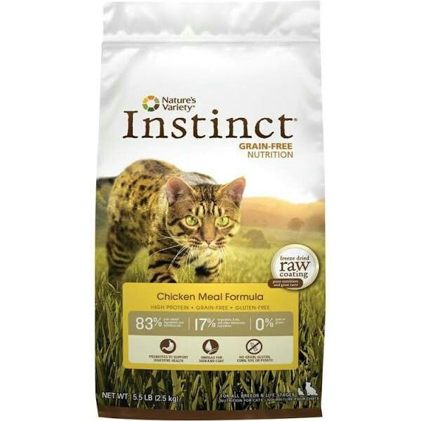 Nature's Variety Instinct Cat Food - Grain Free, Chicken size: 5.5 Lb