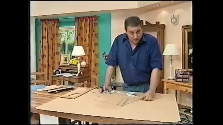 Puntos y Puntadas 34. Parte 2. Cómo hacer el molde de una prenda hecha. ...