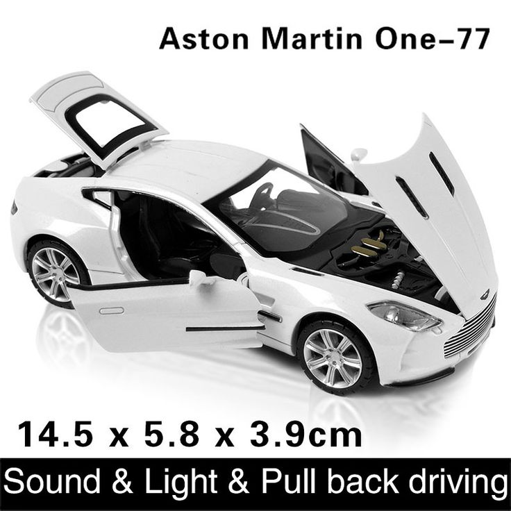 1:32 Free shipping kids toys aston martin one-77 metal toy cars model for children pull back car miniatures gifts for boys