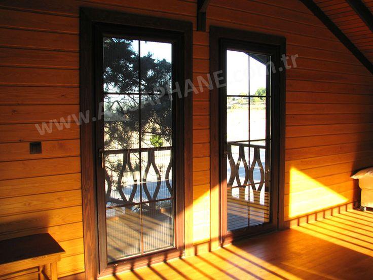 verandaya açılır :)