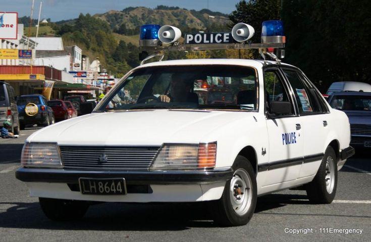 1982 Holden Royale Police Car