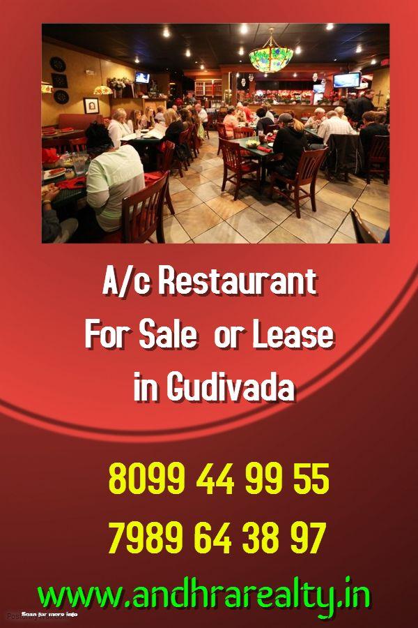 Running A/c Restaurant for Sale / Lease in Gudivaada, Krishna District