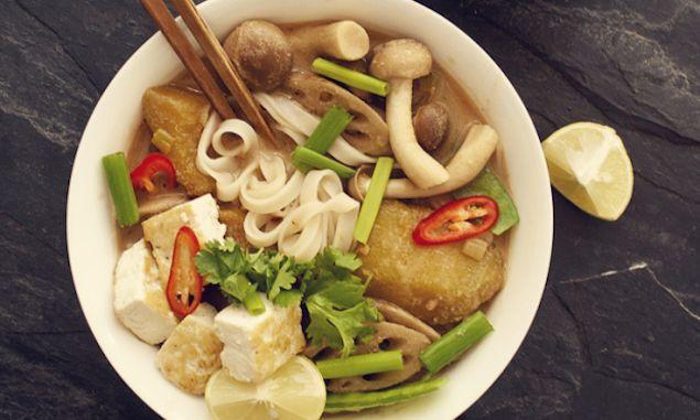 and Pumpkin Rice Noodle Soup | Recipe | Rice Noodles, Rice Noodle ...