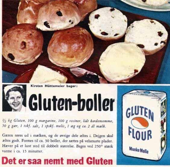 Gluten-boller