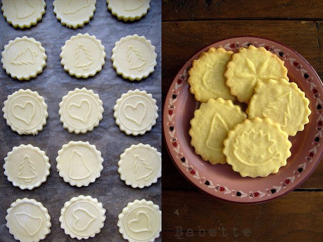 Babette: Karácsonyi omlós keksz...a Páte sablée dícsérete