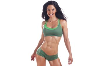Lori Harder's abs!!! Isagenix Roll Model! Won the top three fitness competitions of 2011 with the help of Isagenix!!