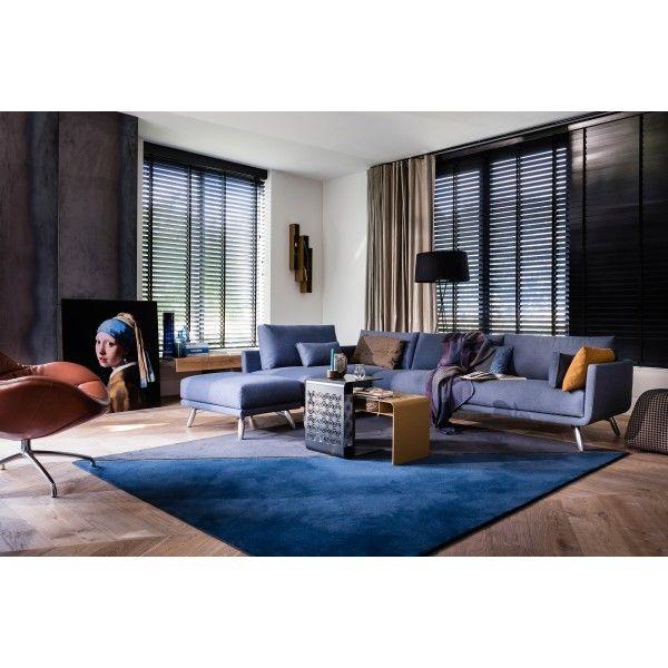 Design on Stock Byen bank 3-zits 1-arm + chaise longue. Perfect voor een avondje bankhangen! #DesignOnStock #bank #design #Flinders