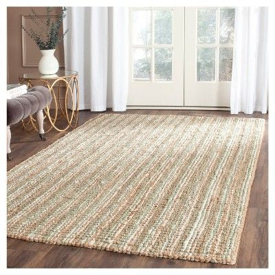 Serena Natural Fiber Accent Rug - Sage / Natural (2' 6 X 4') - Safavieh, Green