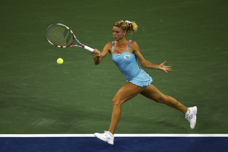 Camila Giorgi on Day 6 of the 2013 US Open. - Getty Images