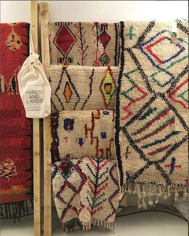 #handsandlands #Azilal #moroccanart #tapisberbere #berbercarpet #berberrug #handmade #decoration #decor #interiordesign