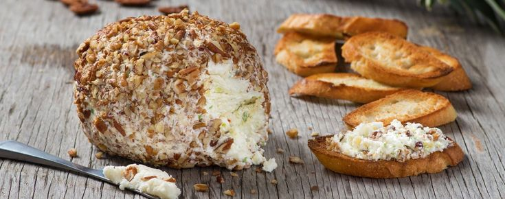 Pineapple Pecan Goat Cheese Ball | Woolwich Dairy