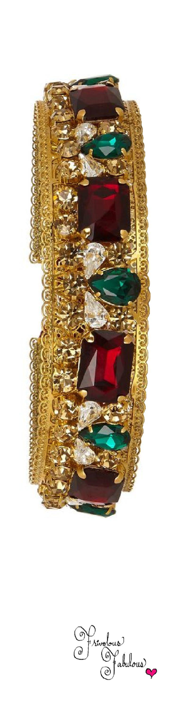 Frivolous Fabulous - Dolce & GabbanaGold Plated Swarovski Crystal Headband
