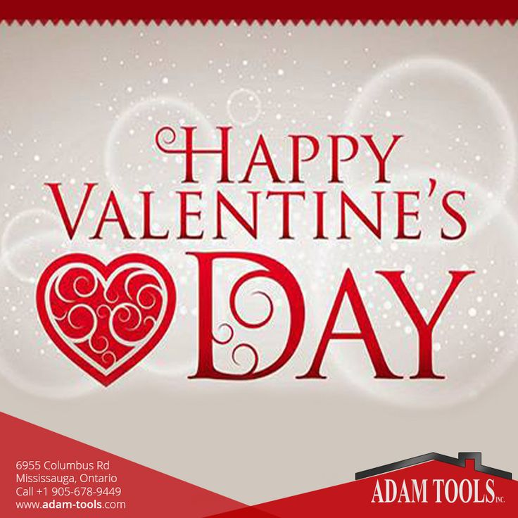 Happy Valentine's Day to all our valued clients and followers from the entire Adam Tools Inc Team.  #valentine #happyvalentinesday #happyvalentine #lovers #happyday