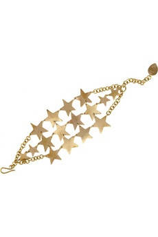 Made Nyota Nane gold-tone star bracelet