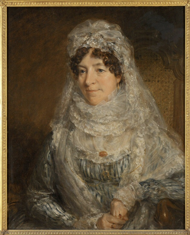 Portrait of Mrs. Edwards  John Constable, 1776-1837  Oil on canvas. 29 15/16 x…