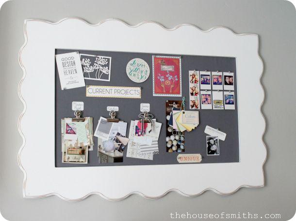 DIY Fabric Pin Board