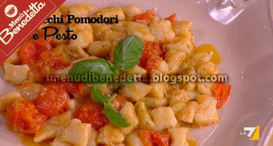 I Menu di Benedetta   Molto Bene: Gnocchi Pomodorini e Pesto