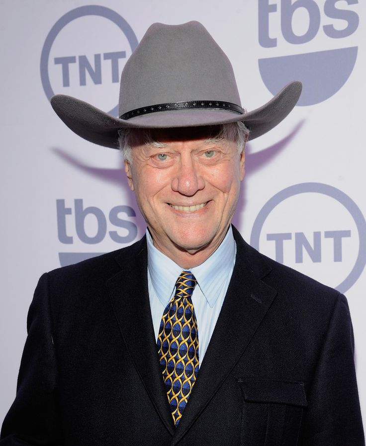 """Larry Hagman... This May 16, 2012 file photo shows actor Larry Hagman from the show """"Dallas"""" at the TNT and TBS upfront presentation at the Hammerstein Ballroom in New York. TNT begins the second season of its """"Dallas"""" revival next month. The network said Tuesday, Dec. 11, that it will hold a funeral for Larry Hagman's memorable character at some point in the 15-episode season but that it hasn't been filmed or scheduled yet. Hagman died at age 81 over the Thanksgiving weekend."""
