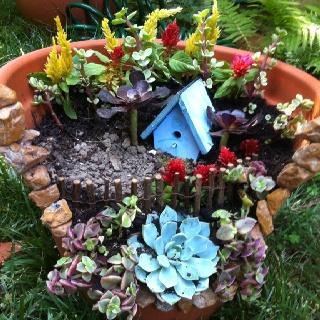 17 Best 1000 images about broken flower pot creations on Pinterest