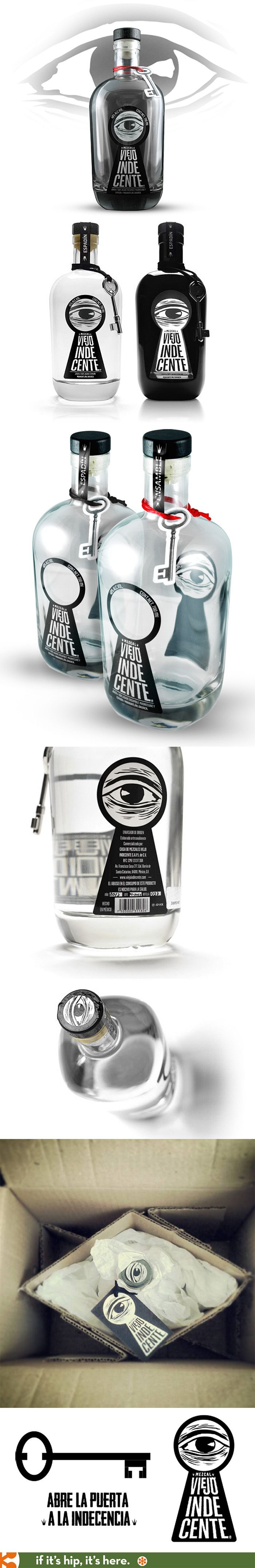 "Una bottiglia piena di design per un liquore messicano! ""Fabulous bottle designs…"