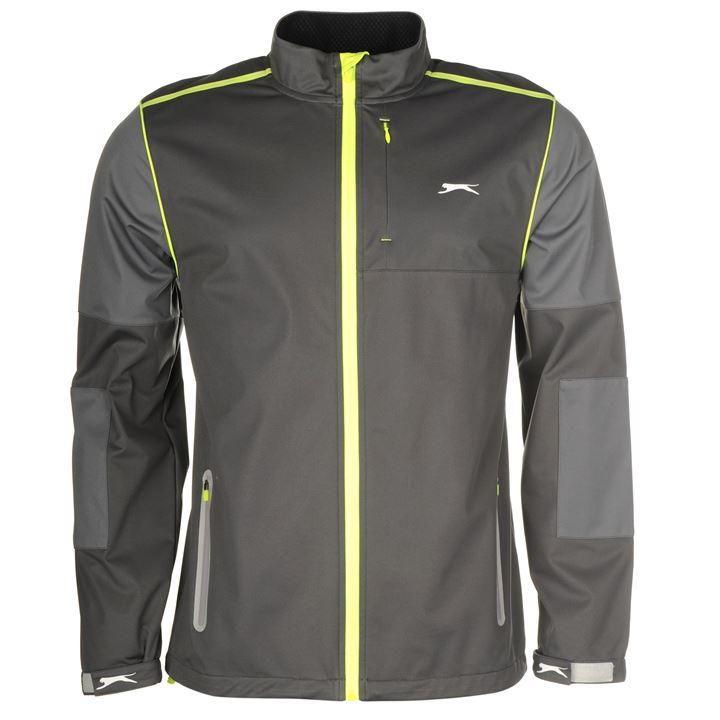 Slazenger | Slazenger Softshell Long Sleeve Jacket Mens | Golf Jackets