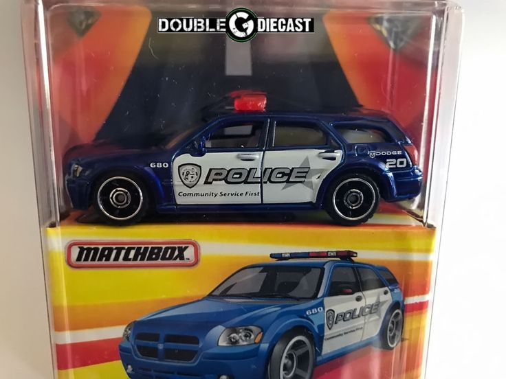 1:64 Matchbox Best of the World Series - Dodge Magnum Police vehicle
