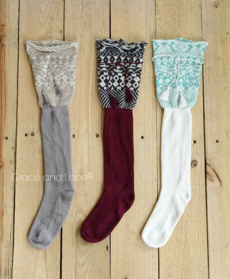 Grace and Lace Boot Socks
