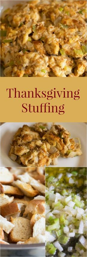 Moist and delicious stuffing just the way my Nana makes it.