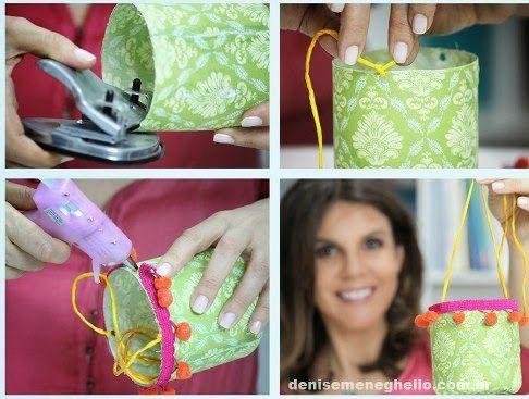 Cómo hacer un lindo florero reciclando botellas de plástico | Aprender manualidades es facilisimo.com