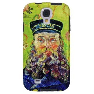SOLD! - Portrait Postman Joseph Roulin Vincent van Gogh Case-Mate Vibe Samsung Galaxy S4 Case #portrait #postman #Roulin #vangogh #gogh #postimpressionism #painting #case #Samsung #galaxy #s4 #cover #art #smartphone #gift