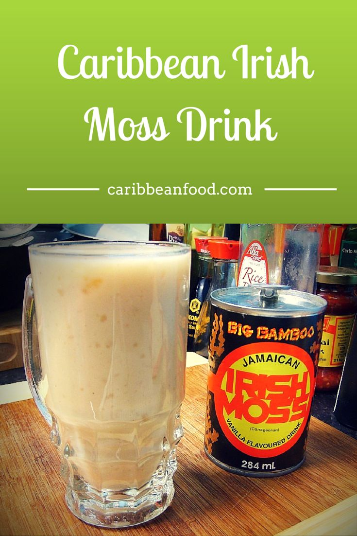 How to make a Caribbean Irish Moss Drink