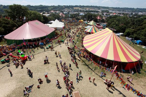 Glastonbury Festivals - Areas - Kidz Field Pilton, 25th - 29th June  The Kidz Field is an extraordinary world of wonder and magic. Around the field they have things to do and see, make or join in with, bounce on, jump off, climb up and fly in.  http://www.glastonburyfestivals.co.uk/areas/kidz-field www.dinkydragon.co.uk