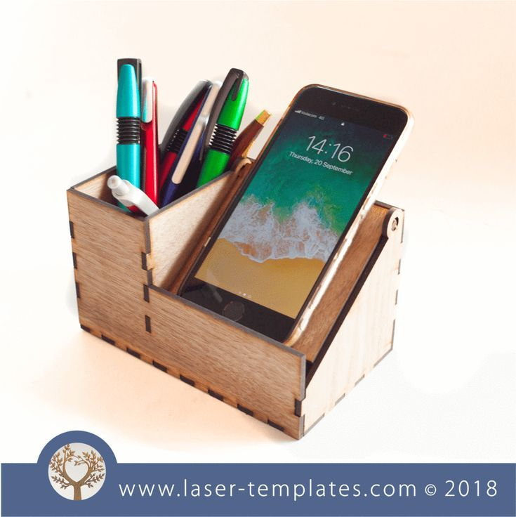 3mm Desk Organiser Cell Phone Stand Phone Stands Phone