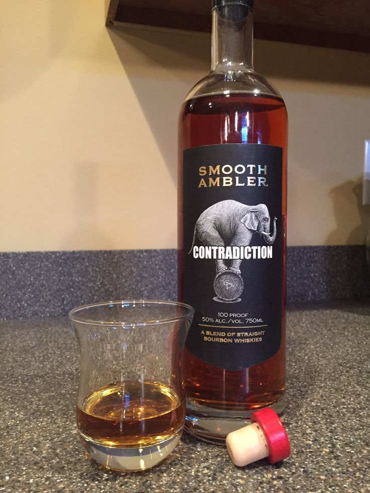 Smooth Ambler Contradiction is a blend of 2 yr. wheated bourbon and 9 yr. high rye bourbon. Distilled in both Greenbrier Valley, WV and IN. Loved it! Try to find a bottle!