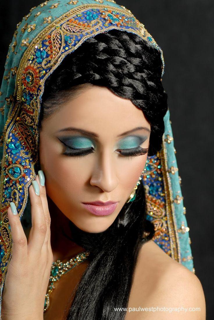 40 best indian bridal make-up images on pinterest | indian makeup
